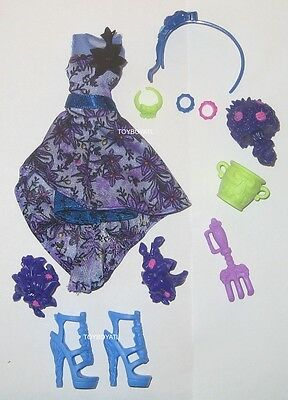 Monster High Gloom and Bloom Catrine DeMew Doll Outfit Clothes Dress - Shoes NEW