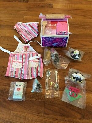 New In Box American Girl Doll Sweet Treats Cooking Baking Accessories Set