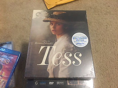 Tess Blu-ray DVD 2014 3-Disc Set Criterion Collection NEW