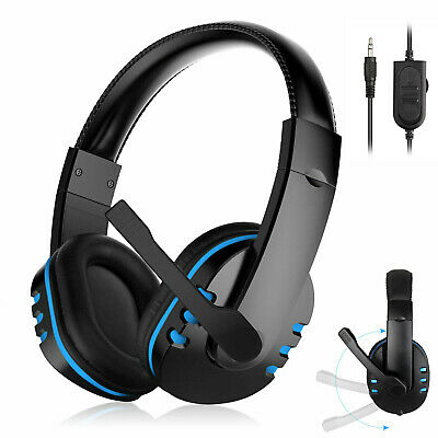 3-5mm Gaming Headset Stereo Surround Headphone With Mic For PS3 PS4 Xbox ONE 360