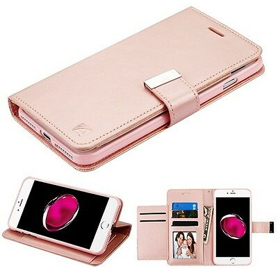 Rose Gold MyJacket Wallet Xtra Series GE035 -WP for APPLE iPhone 8 Plus7 Plus
