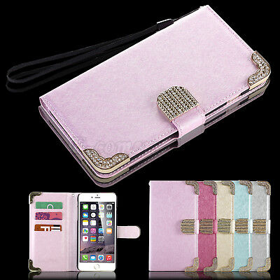 Luxury Magnetic Wallet PU Leather Stand Case Cover for Apple iPhone 66S 4-7