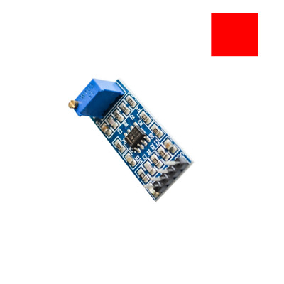 LM358 100 TIMES GAIN SIGNAL AMPLIFICATION AMPLIFIER OPERATIONAL MODULE 5 12V
