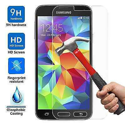 Ultra Slim Premium HD Tempered Glass Screen Protector for Samsung Galaxy S5