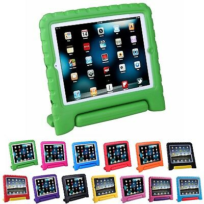 Shock Proof iPad Case for Kids Bumper Cover Handle Stand for Apple iPad 234