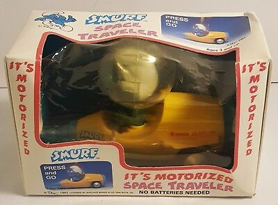 Vintage SMURFS Space Traveler From 1983 MINT IN THE BOX