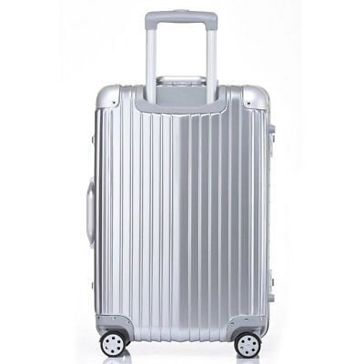 202428 Luggage Travel Bag Trolley Box TSA Lock Aluminum PC HardShell Suitcase