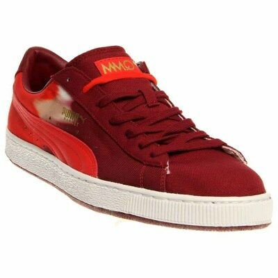 Puma Basket Classic Hand Dye Red - Mens  - Size
