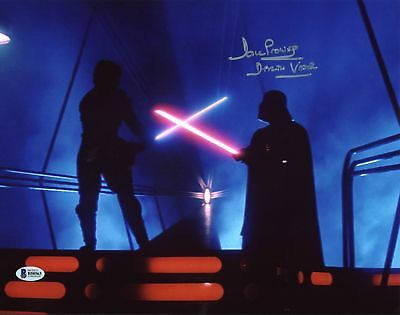 David Prowse Star Wars Darth Vader Authentic Signed 11X14 Photo BAS 6