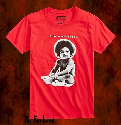 New Notorious B-I-G Biggie Smalls Ready to Die 1994 Mens Vintage T-Shirt