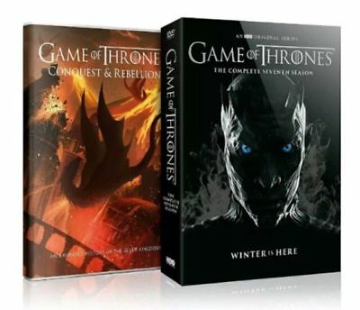 Game of Thrones Season 7 The Complete Seventh Series DVD 2017New Free shipin