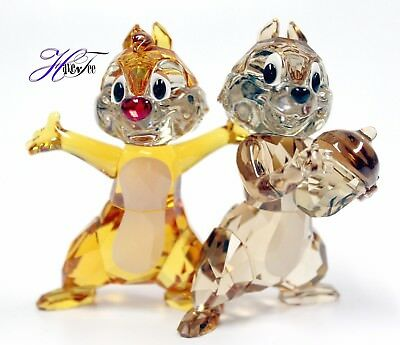 CHIP N DALE DISNEY CHARACTER COLORED EDITION 2018 SWAROVSKI CRYSTAL  5302334
