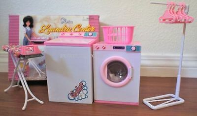 GLORIA DOLLHOUSE FURNITURE LAUNDRY CENTER W WASHER - DRYER PlaySet FOR Dolls