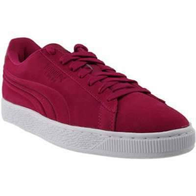 Puma SUEDE CLASSIC EMBOSSED - Pink - Mens