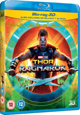 Thor Ragnarok 3D 3D - 2D Blu-ray Region Free Hemsworth Marvel Super Heroes