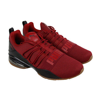 Puma Cell Regulate Mens Red Synthetic Athletic Lace Up Training Shoes