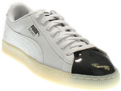 Puma Basket Patent Mens Sneakers White - Mens  - Size