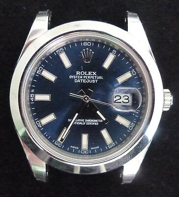 ROLEX OYSTER PERPETUAL DATE JUST AUTOMATIC MEN WATCH REFF 116300 - PAPERS