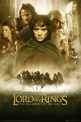 LORD OF THE RINGS MOVIE POSTER USA Version Size 24 x 36