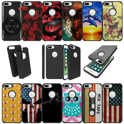 For Apple iPhone 8 Plus  iPhone 8 Plus Shockproof Dual Layer Slim Cover