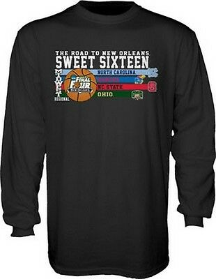 NCAA Midwest Regional Sweet 16 Long Sleeve T-Shirt Step Ahead New March Madness