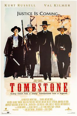 TOMBSTONE MOVIE POSTER USA Version Size 24 x 36