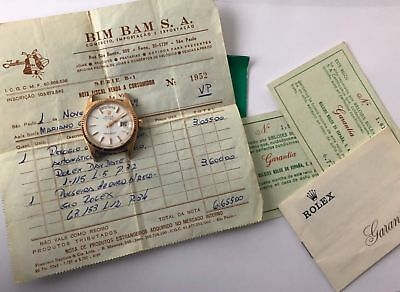 Rolex - Oyster Perpetual Day-Date 1803 President 18k