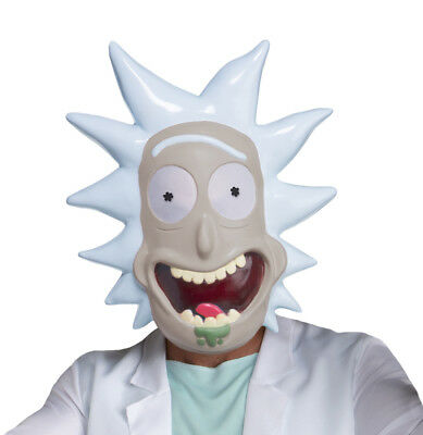 Rick and Morty Rick Adult Costume Mask