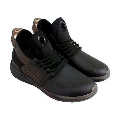 Supra Skytop V Mens Black Leather Athletic Lace Up Training Shoes