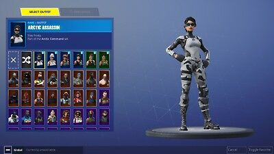 Fortnite account  PS4PCMobile 40- skins Save the World and Galaxy coming soon