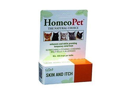 HomeoPet Feline Skin and Itch Relief Remedy