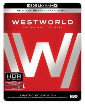 Westworld The Complete First Season 4K Ultra HD Blu-ray 2017 Steelbook