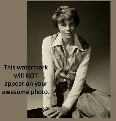 1931 Amelia Earhart PHOTO Portrait Pose for Vanity Fair WOW