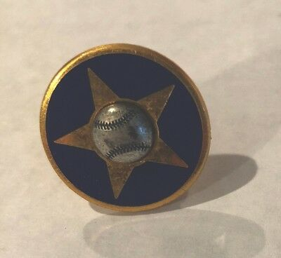 Collectible 1968 Balfour Commissioners All Star Game Baseball Cuff Link