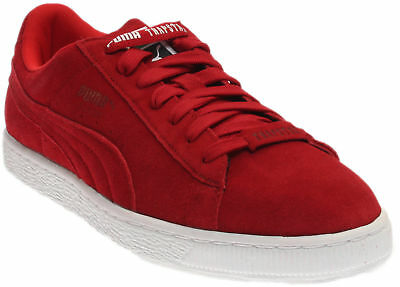 Puma Trapstar Suede Sneakers - Red - Mens