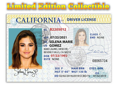 Selena Gomez Superstar Limited Edition Collectible License