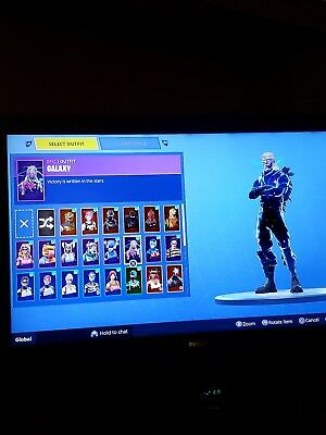 Fortnite account with galaxy skin and mogul master