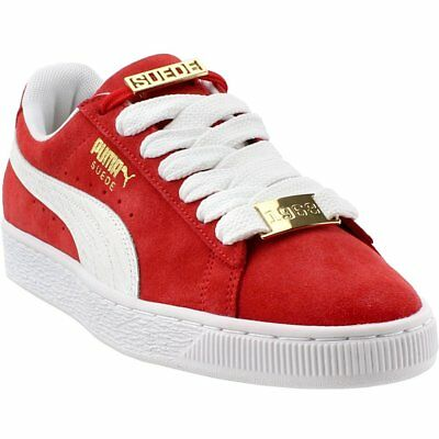 Puma Suede Classic Bboy Fabulous Sneakers- Red- Mens