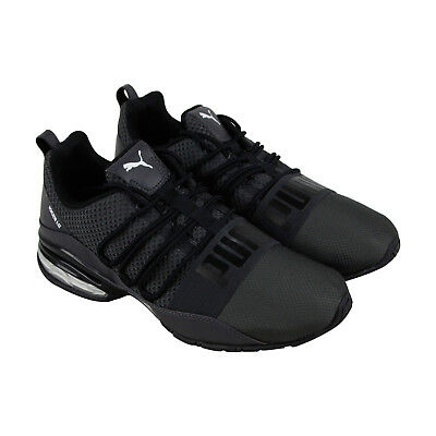 Puma Cell Regulate Winterized Mens Gray Textile Athletic Running Shoes