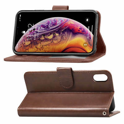 Brown Wallet Flip Case Cover for Apple iPhone 7 8 4-7inch