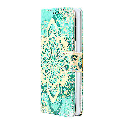 Stand Case Cover for Samsung Galaxy S6 Edge Plus with Leather Flip Wallet