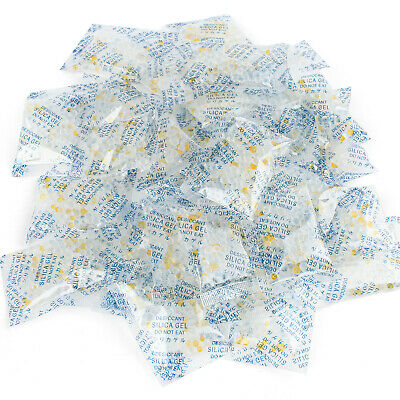 60 Packs 5 g Grams Silica Gel Desiccant Packets Moisture Absorber Drying Bags