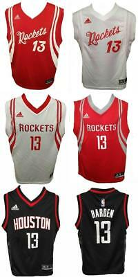 New James Harden 13 Houston Rockets YOUTH S-M-L-XL Adidas Licensed Jersey