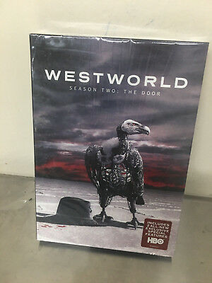 Westworld The Second Season 2 Two DVD 2018 3-Disc Set NEW Sealed in Box