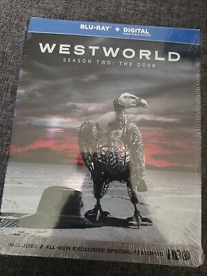 Westworld Season Two The Door Blu-ray-Digital NEW FREE shipping