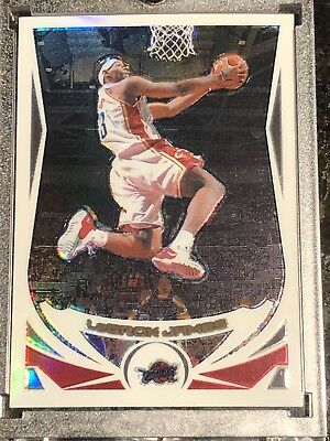 2004-2005 Topps Chrome LeBron James Refractor 23 2nd Year Cavs Lakers HOT RARE