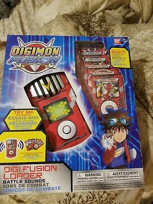 Bandai Digimon Fusion DigiFusion Loader New Unopened
