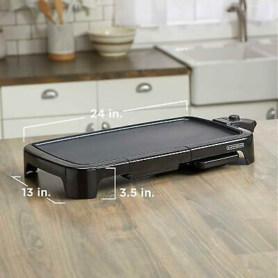 Electric Grill Indoor Griddle BBQ Barbecue Griller Counter Table Top Portable