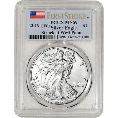 2019-W American Silver Eagle - PCGS MS69 - First Strike