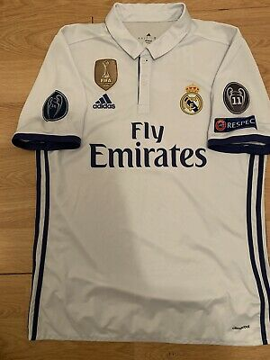 Jersey Authentic  Adidas Real Madrid  Champions League Ronaldo Size L